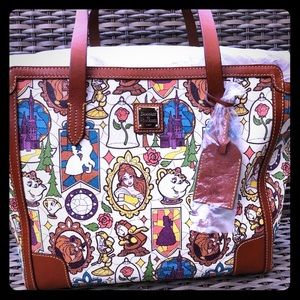 Dooney and Bourke Beauty and The Beast LG Shopper